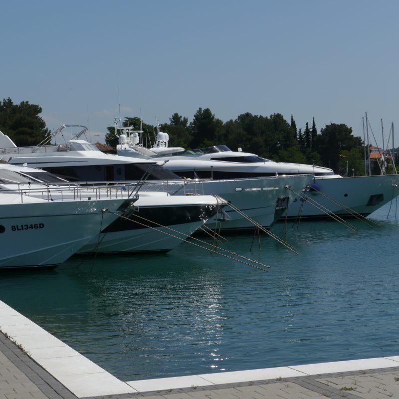 Yachthafen Novigrad, Istrien